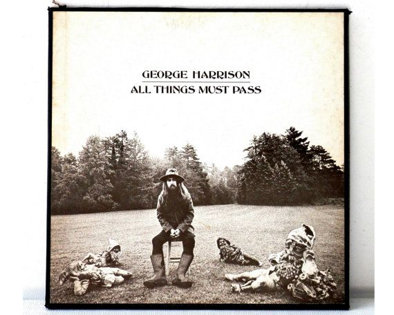 1970 George Harrison All Things Must Pass Vinyl Record Boxed Set