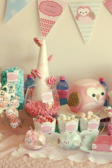 "Photo 16 of 23: Owls / Birthday ""Owly Love Birthday""   Catch My Party"