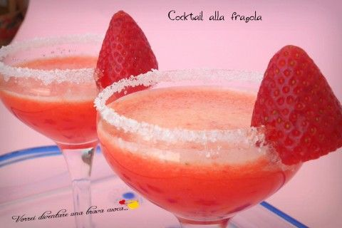 Cocktail alla fragola- analcolico