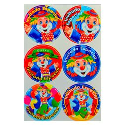 #distintivos #fiestaPayaso #kitfiesta www.kitfiesta.com