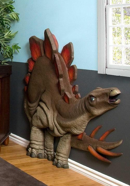 Beetling 3 D Wall Art Transforms Kids Rooms Dinosaur Bedroomdinosaur