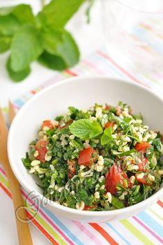 """Салат """"Табуле"""" - подавать к шашлыку или в качестве самостоятельного блюда   Четыре вкуса"""