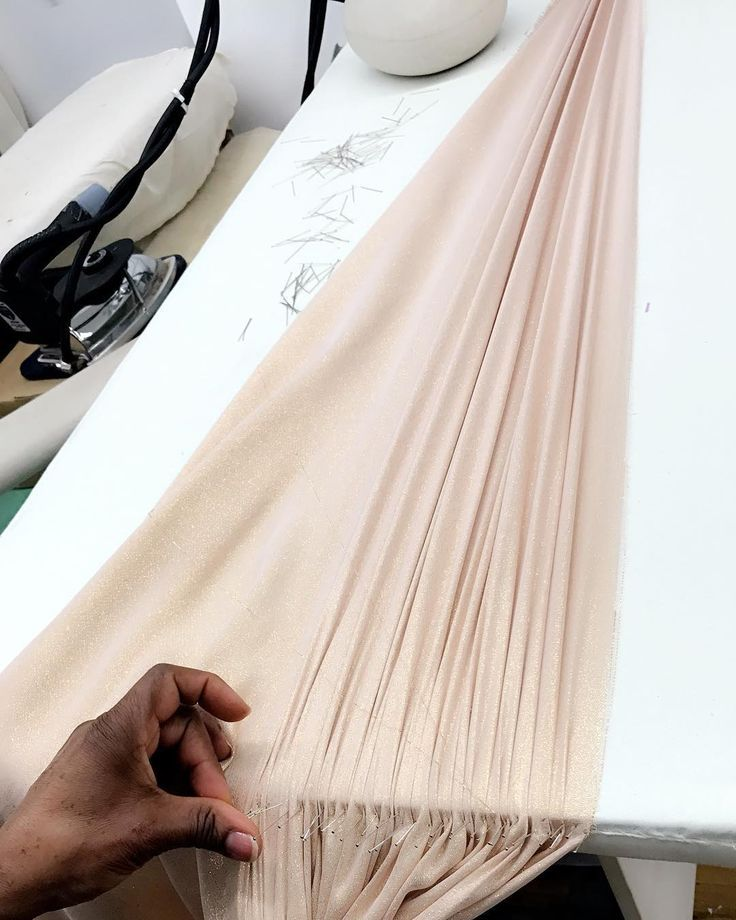 Hand-pleating day... watch our Instagram stories for a behind the ...