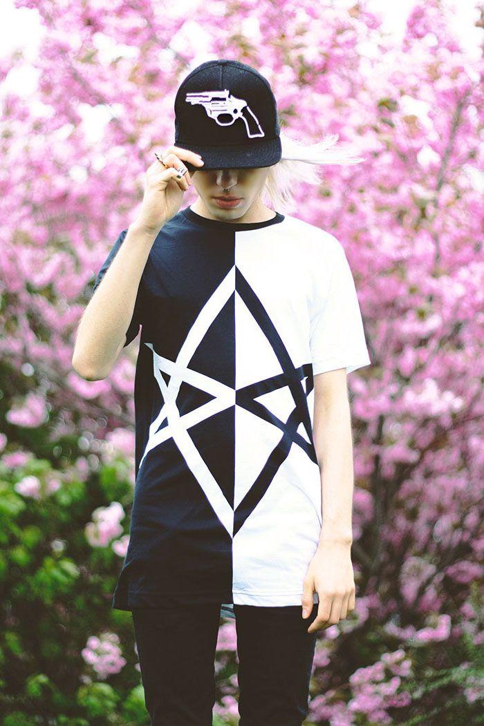Milex - blogger wearing Shabatin revolver cap.