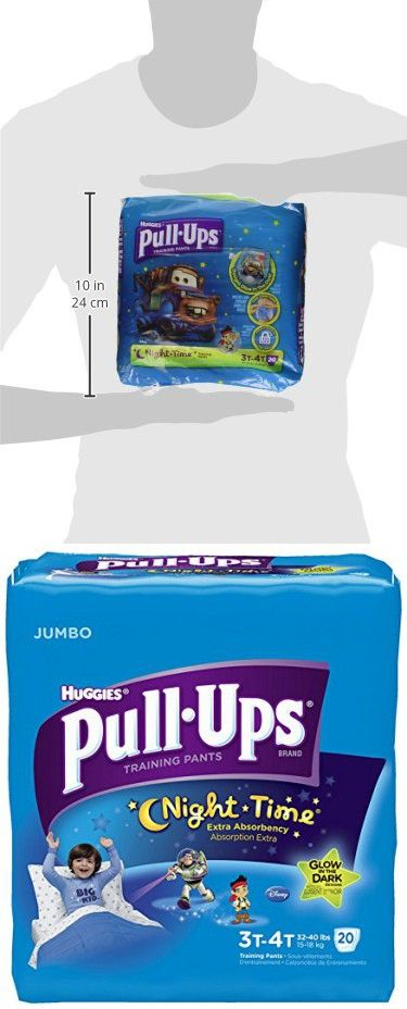Huggies Pull-Ups Nighttime Training Pants for Boys, 20 Count