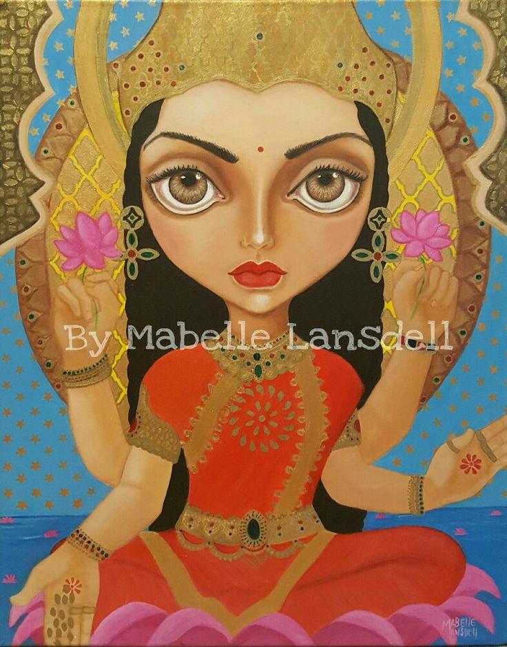 Lakshmi by Mabelle Lansdell