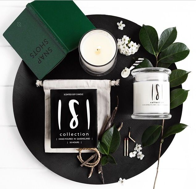 The SCOLLECTION soy candles