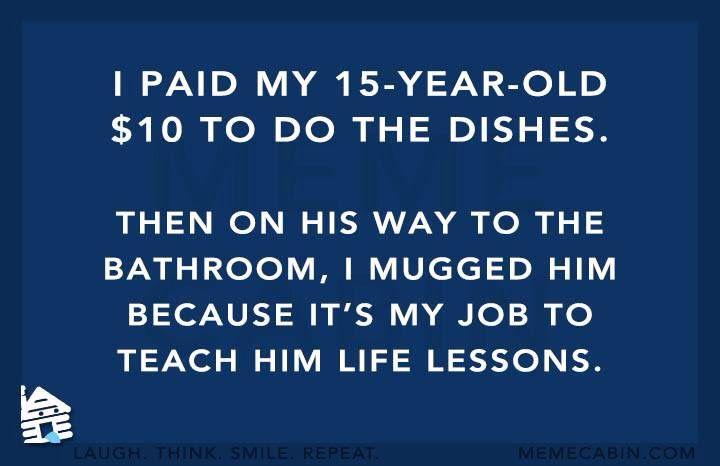 Me as a parent.
