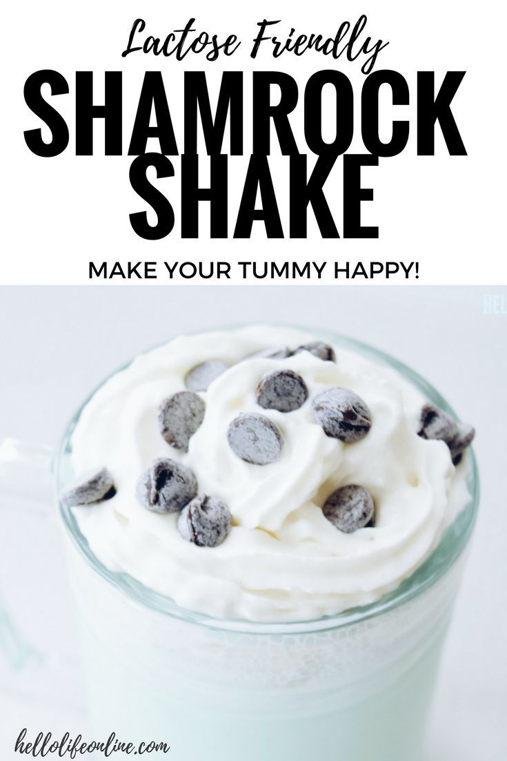Shamrock Shake- This homemade version of a spring time favorite is sure to tempt your tummy! Not just delicious, but this recipe is also lactose friendly for those who are looking to enjoy a Shamrock treat while keeping your stomach healthy and happy. For