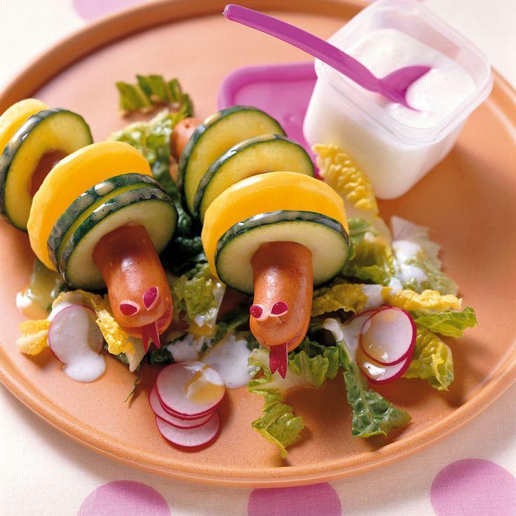 Salatraupe Nimmersatt