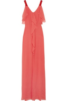 Chiffon Maxi Dress on Crinkled Chiffon Maxi Dress   Dresses