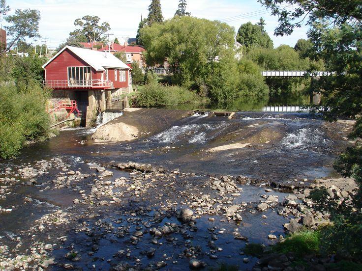 Meander River Deloraine Tasmania