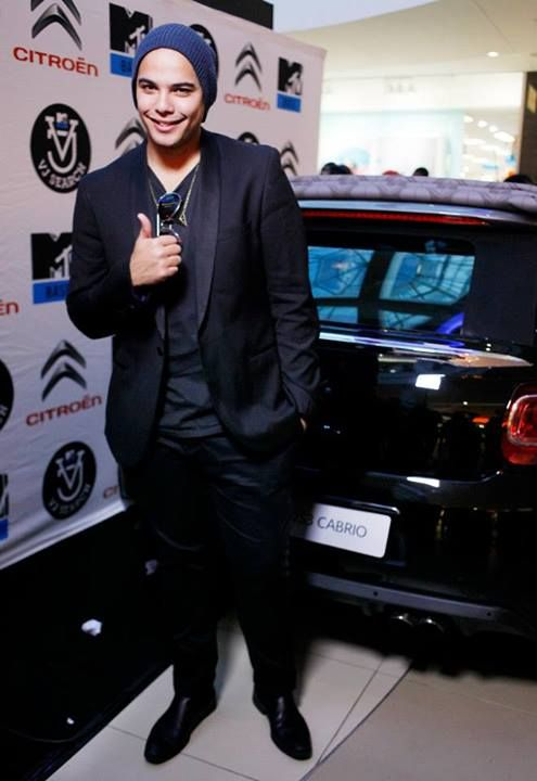 Look who came through to the VJ Search auditions? It's Jimmy Nevis!