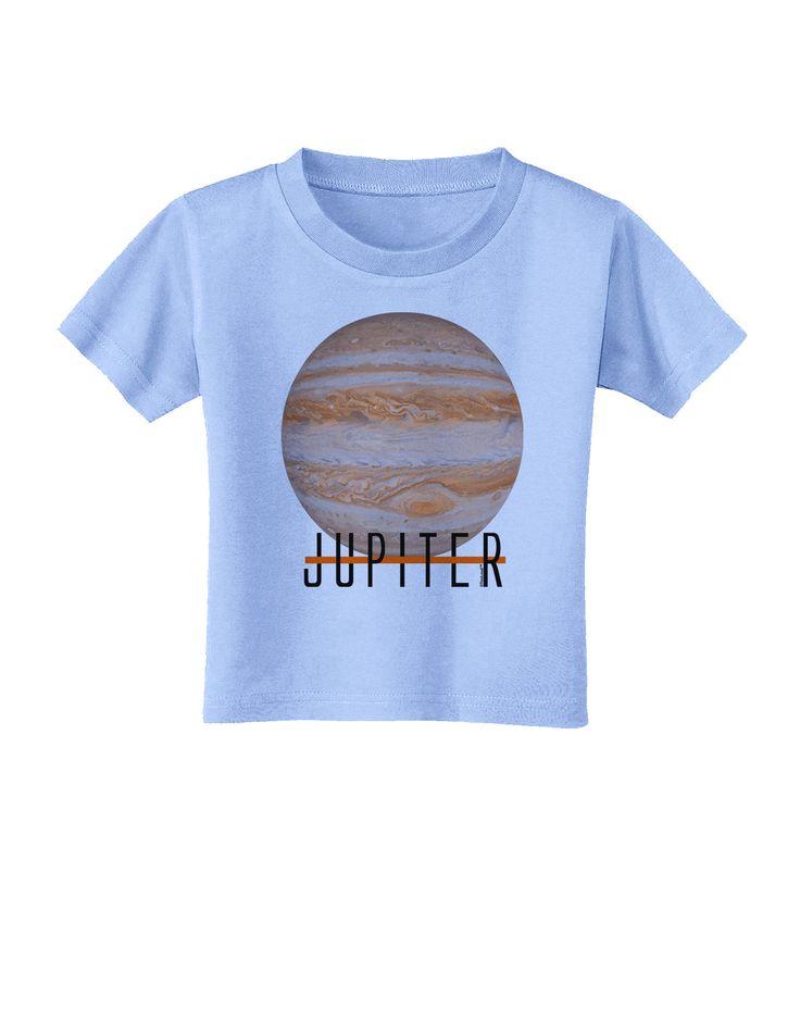 TooLoud Planet Jupiter Earth Text Toddler T-Shirt