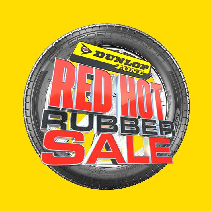 The red hot rubber sale is on. Don't miss incredible deals on tyres.