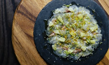 This elegant sea bream starter looks and tastes impressively cheffy, but is easy to prepare at home