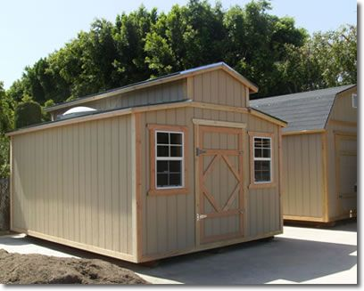 Storage Sheds Custom That Quality Built For This Residential Customer