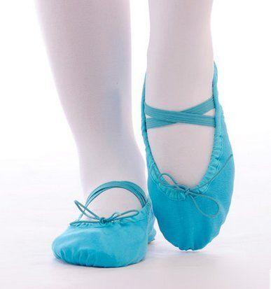 Kinder Frauen flache Ballettschuhe Ballettschläppchen Weiche Alleinige Gym Hausschuhe Sport Turnschuhe 23-36 - http://on-line-kaufen.de/long-dream/kinder-frauen-flache-ballettschuhe-weiche-gym-23