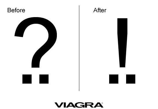 Before and after viagra