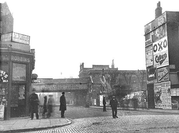 Haggerston Station, c 1895