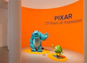 Pixar tentoonstelling in Amsterdam EXPO