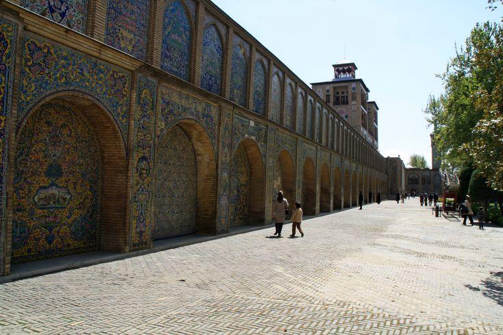 Iran | Golestan Palace, Tehran UNESCO WHS (2013). credit: Mamooli view on Fb https://www.facebook.com/SinbadsIranPocketGuide #MyIran #Iran #Persia #TravelToIran #travel #worldheritagesite