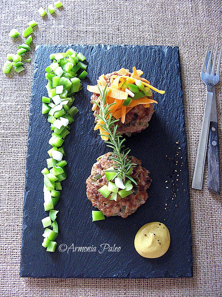 Hamburger di Carne e Peperoni