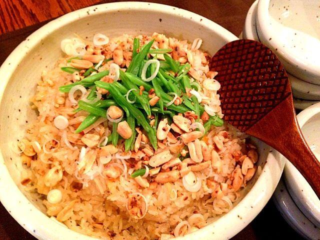 フライパンで炒った ピーナッツ✨香ばしくって❤ - 52件のもぐもぐ - 干し貝柱の中華おこわ  ピーナッツぱらぱら香ばしく♪♪♪ by ran2ran