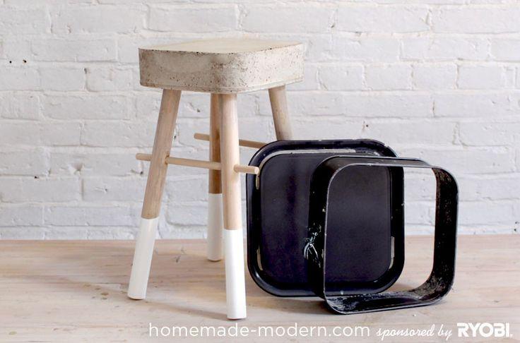 HomeMade Modern DIY EP8 $5 Bucket Stool Revisited