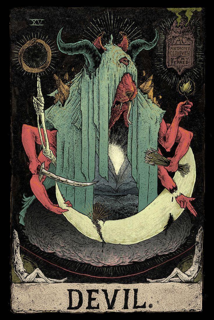 Capricorn is the devil in tarot | TAROT in 2019 | Satanic