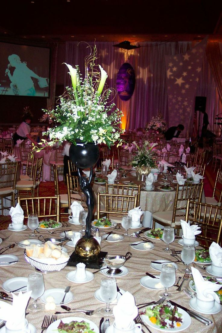 Art Deco Wedding Centerpieces 108 Best Old Hollywood Bar Mitzvah Images On Pinterest Parties