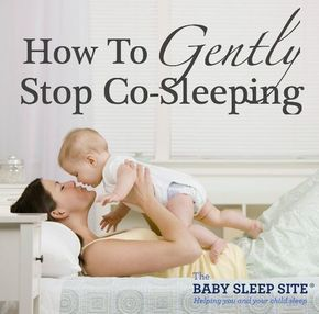 You can use these 4 steps to gently wean your baby or toddler away from co-sleeping, and towards sleeping in his or her own bed (and hopefully sleeping through the night!)