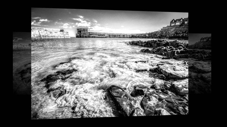 #Northumberland - a series of #monochrome images of the beautiful Northumbria coast - black & white photography