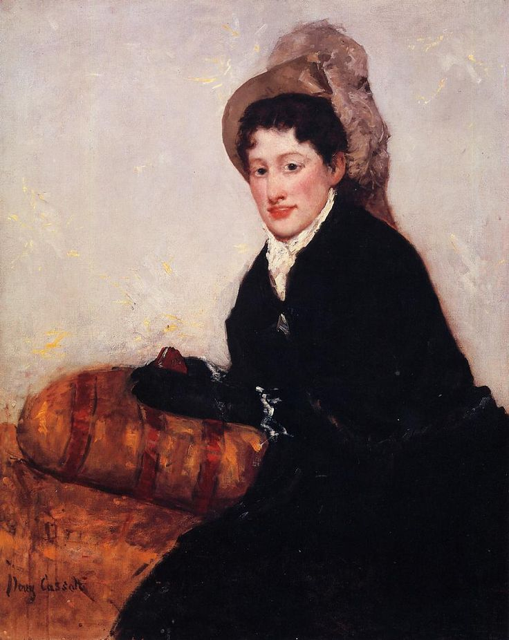Portrait of Madame X Dressed for the Matinee,  Mary Cassatt - 1878