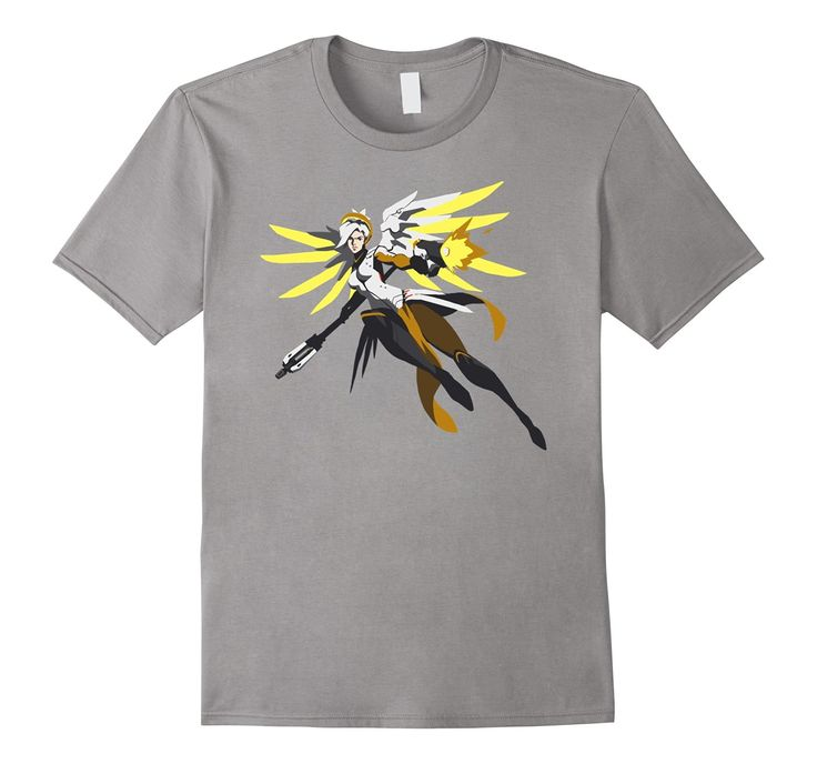 Overwatch Mercy Battle Ready Spray T-shirt