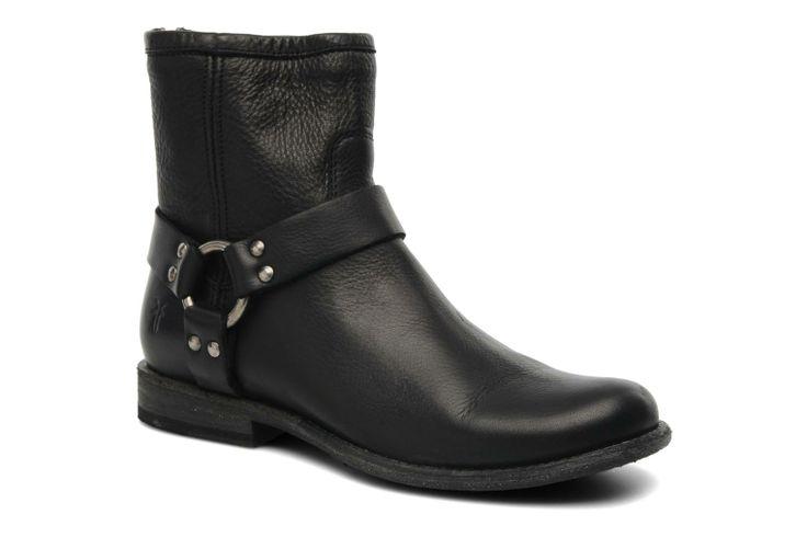 Phillip Harness W Frye (Noir) : livraison gratuite de vos Bottines et boots Phillip Harness W Frye chez Sarenza