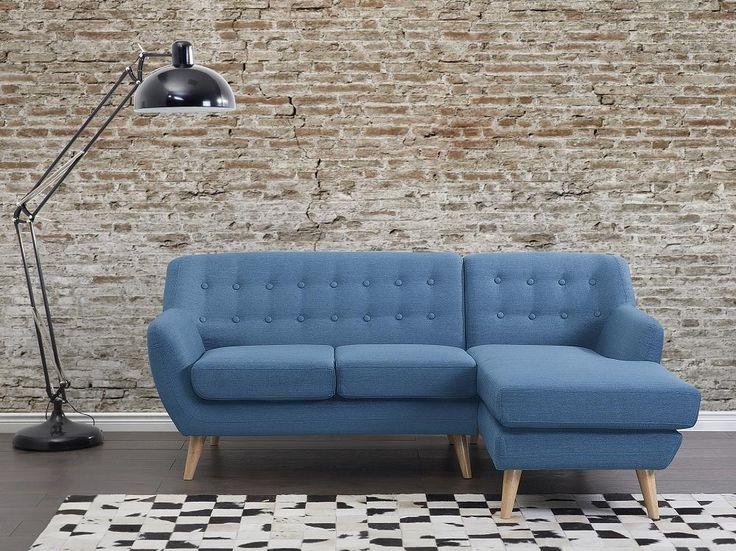 Sofa Blau - Couch - Ecksofa - Eckcouch - Polsterecke - MOTALA - Günstige Online-Shops und Angebote