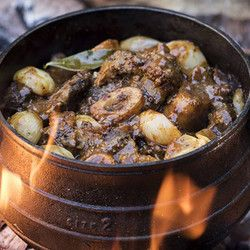Shin and Oxtail Beef Potjie