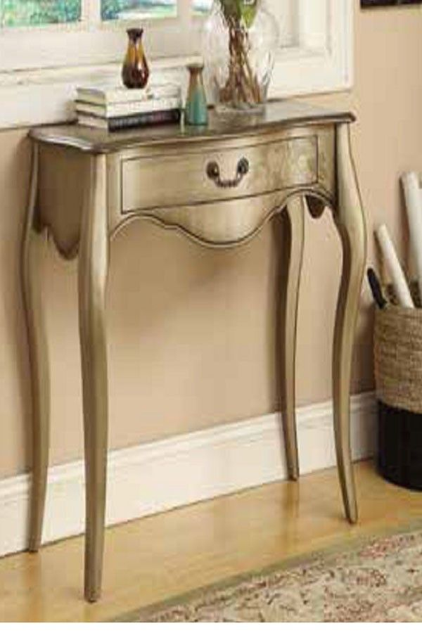 $241       Your satisfaction will increase over time, as the table will prove its durability, thanks to its solid wood and wood veneer construction.      The design elements of classic Queen Anne shape legs and medium storage drawer will add to your contentment.