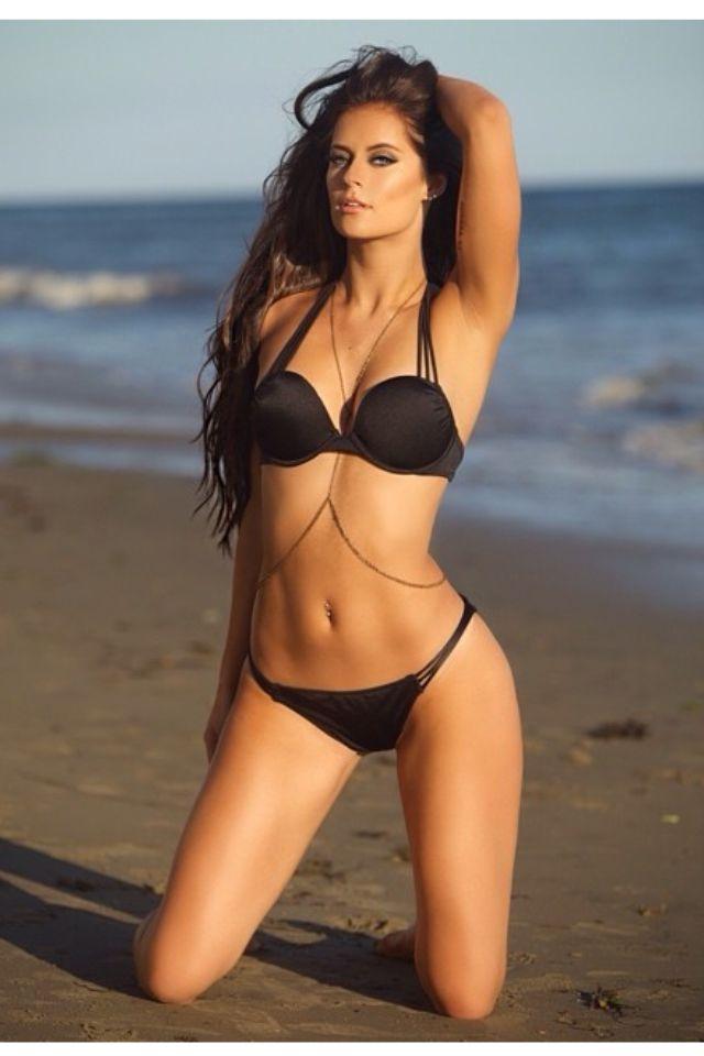 Beach Body Swimsuits Bikinis Black Hottest Swimwear Beach