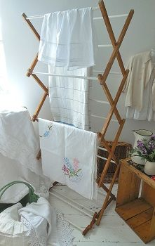 Vintage washing airer.