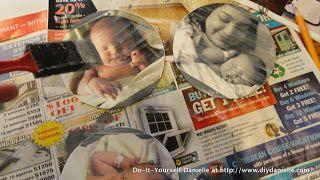 Doe-Het-Zelf Danielle: DIY: CD Upcycle, Deel II