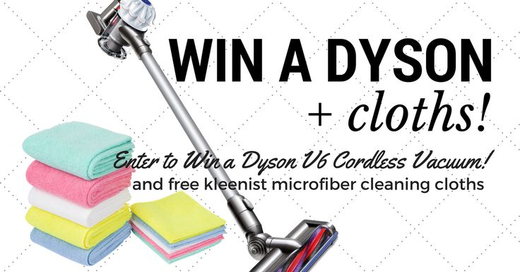 Dyson V6 Cordless Vacuum Giveaway – brought to you by kleenist!   Enter to win!
