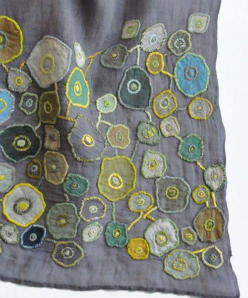 sophie digard - IMAGINARY GARDEN リネンスカーフ