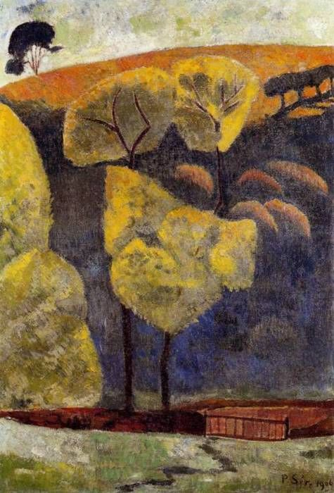 The Blue Valley, 1906, Paul Serusier. French (1863-1927)