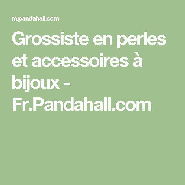 Grossiste En Bijoux Fantaisie Et Accessoires : Les meilleures id?es de la cat?gorie grossiste perles