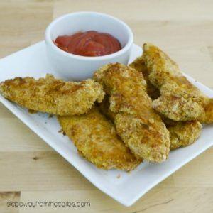 Chicken Tenders | Keto Chicken Dinner Recipe