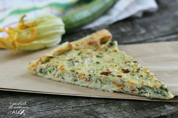 Tortino di zucchine e ricotta