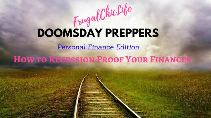 Doomsday Preppers Personal Finance Edition