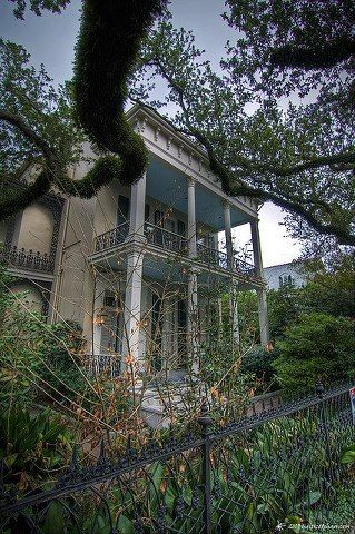 The abandoned Anne Rice Residence - New Orleans